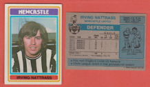 Newcastle United Irving Nattrass 243